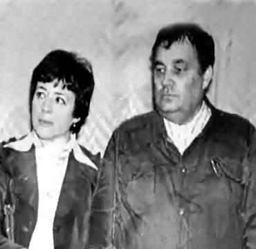 С первой женой Зоей