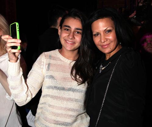 Лейла ФАТТАХОВА с дочерью Лизой