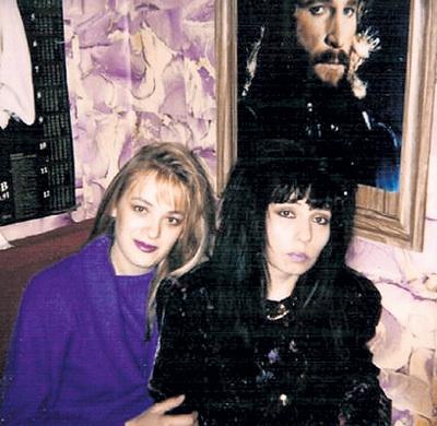 Татьяна ТАЛЬКОВА, вдова Игоря (на фото - справа), после его гибели подружилась с его последней любовницей Еленой