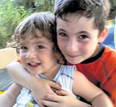 Это фото своих детишек от второго брака ШЛЯФМАН выложил на своей страничке в «Одноклассниках»