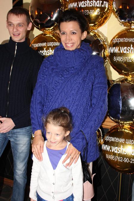 Елена БОРЩЁВА с дочкой