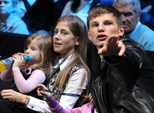 Андрей АРШАВИН с женой Юлией.