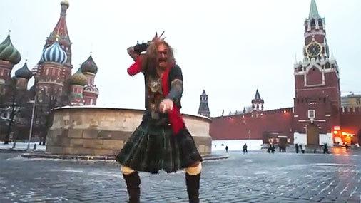 Никита ДЖИГУРДА сплясал на Красной площади