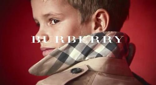 Детская игривость стала новым трендом для рекламной кампании Burberry.