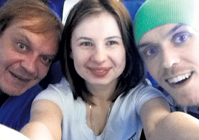 Михаила ГОРЕВОГО актриса считает названным отцом, а его сына Митю — почти братом. Фото: Vk.com