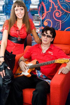 Александр БАРЫКИН с женой Нелли (фото Руслана ВОРОНОГО)