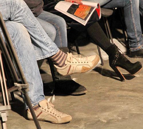 Максим ВИТОРГАН, в отличие от супруги, предпочитает более демократичный стиль одежды