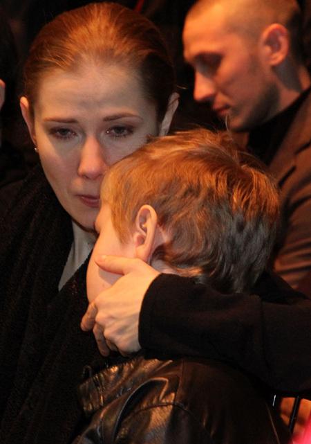 Ирина ЛИНДТ с сыном Ваней