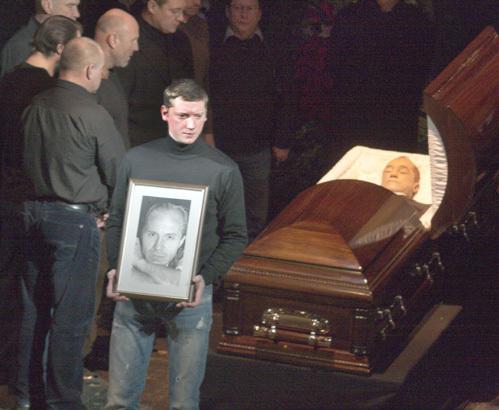 андрей краско похороны фото