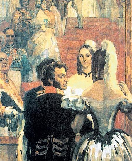 ПУШКИН продавал свои стихи буквально на вес золота, но спускал все гонорары на балы и карты