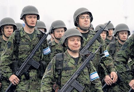 В эстонском спецназе самый высокий в мире процент несчастных случаев из-за неосторожного обращения с оружием