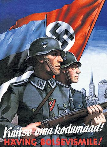 Эстония осталась единственной европейской страной, где полностью оправдывают зверства нацизма
