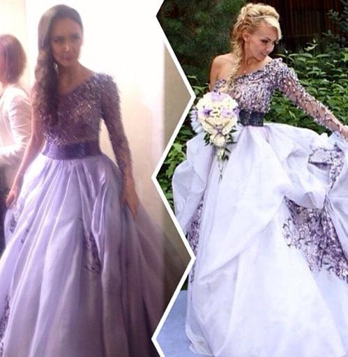 Свадебное платья яны рудковской
