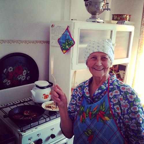 Бабушка Ирины