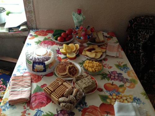 «Это только завтрак» , - подписала Ирина этот снимок