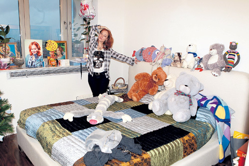 Спальня - место для творческих задумок