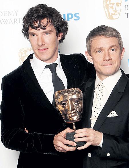 За работу в сериале Бенедикт КАМБЕРБЭТЧ и Мартин ФРИМЕН получили множество всевозможных наград