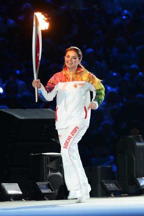 Алина КАБАЕВА   (фото РИА НОВОСТИ)