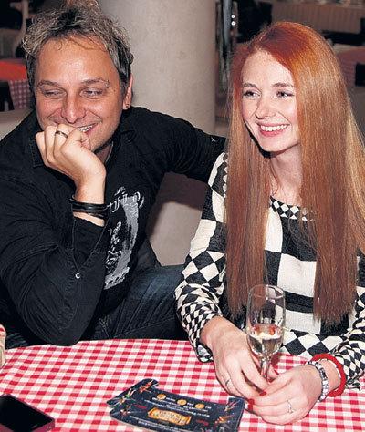 Лена КАТИНА с мужем Сашо КУЗМАНОВИЧЕМ