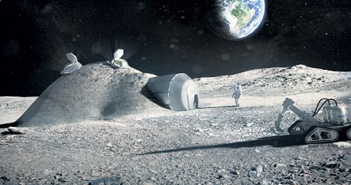 Ученые уверены, что Луна будет заселена людьми ещё при нашей жизни