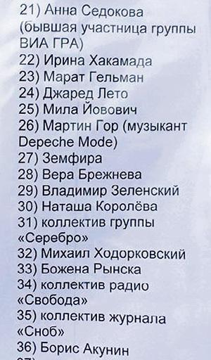 ...висит на палатке крымских активистов в центре Ялты