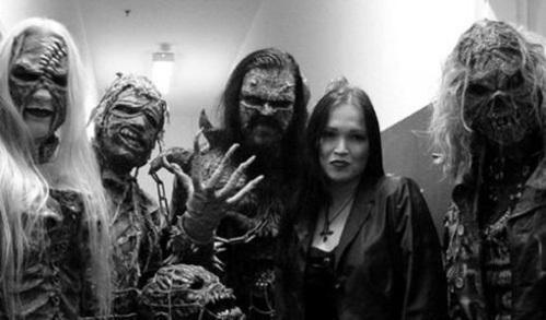 Тарья Турурнен и группа Lordi