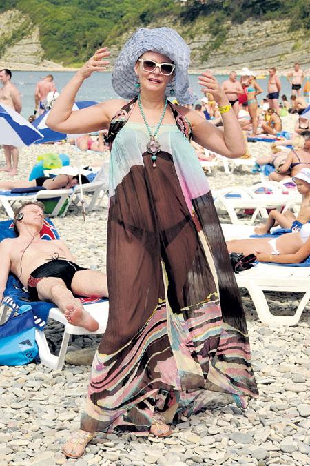 ЯКОВЛЕВА была настоящей королевой пляжа