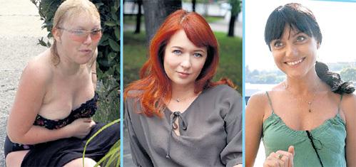 Галину БОКАШЕВСКУЮ, Юлию СВЕЖАКОВУ и Ингу ОБОЛДИНУ (фото «ИТАР-ТАСС») в разные годы считали дамами сердца ГОРДИНА. Но пока в романе с Игорем призналась только Галя