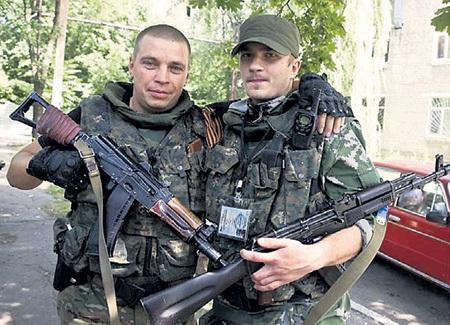 Братья-ополченцы Станислав и Владислав. Фото Эллы ПЕЛЛЕГРИНИ/News Corp Австралия