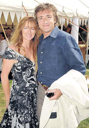 Ричард с женой Минди