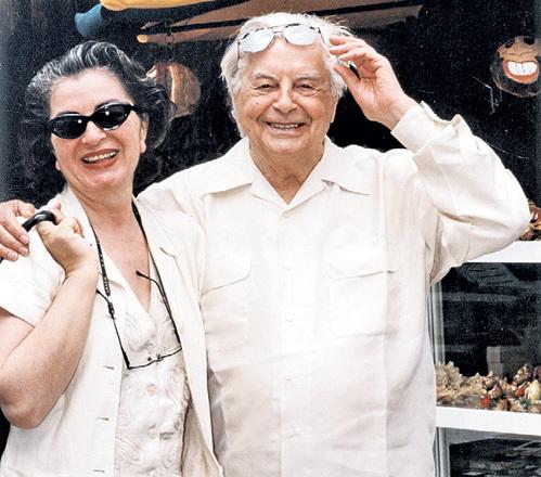 Последняя жена ЛЮБИМОВА Каталин КУНЦ имела на него огромное влияние