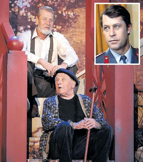 Георгий МАРТЮНЮК, тот самый Пал Палыч из «ЗнаТоКов», обожал играть на одной сцене с другом Львом ДУРОВЫМ. Фото: «ИТАР-ТАСС»