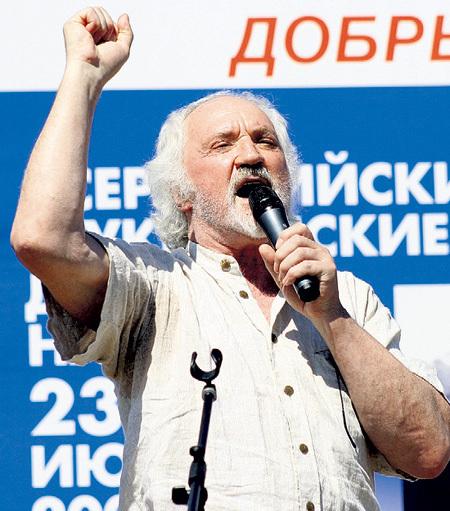 Помимо творчества, ХИМИЧЕВ занимался и общественной работой - был сопредседателем Партии пенсионеров. Фото Олега УКЛАДОВА/«Комсомольская правда»
