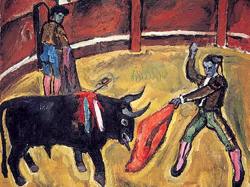 За картину «Бой быков» Андрей МИХАЛКОВ-КОНЧАЛОВСКИЙ выложил миллион долларов