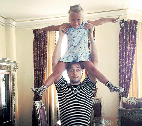 Иван с дочкой Машей. Фото: Facebook.com