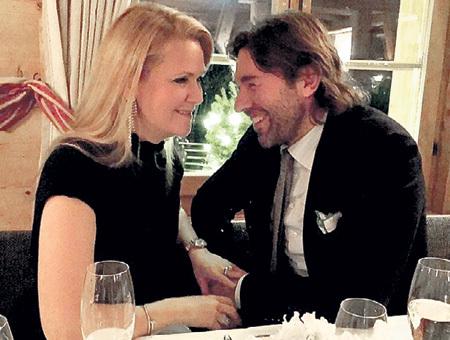 Андрей с женой Наташей. Фото: Instagram.com