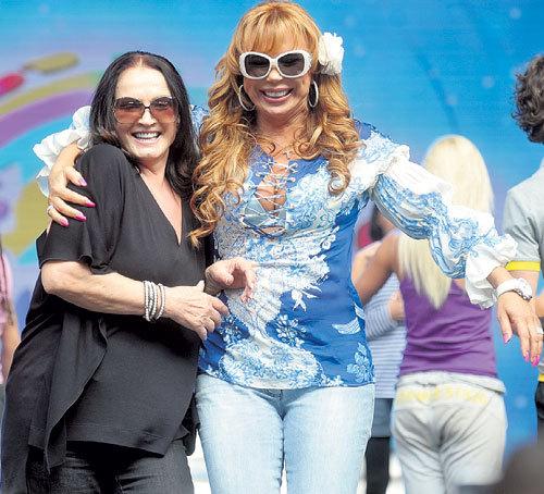 На музыкальном фестивале в Крыму в 2011 году София и Мария доказали, что в шоу-бизнесе от ненависти до любви - один шаг (Фото Евгении ГУСЕВОЙ / «Комсомольская правда»)