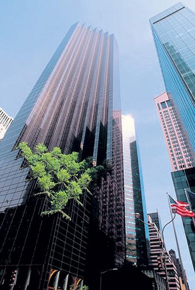 Небоскреб «Triumph Tower» принадлежит Дональду ТРАМПУ, а апартаменты в нем - РОНАЛДУ