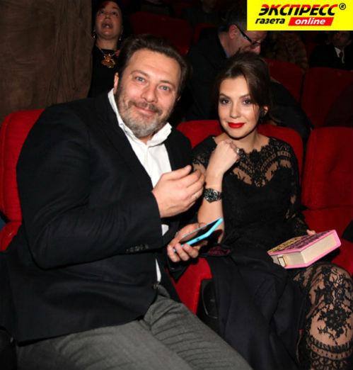 Сергей МИНАЕВ с женой Елизаветой