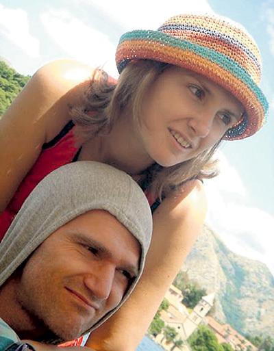 Сын Егор с женой Ксенией. Фото: Vk.com