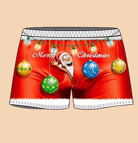 ba4da25428f5a Новогодние трусы для мужчин | EG.RU
