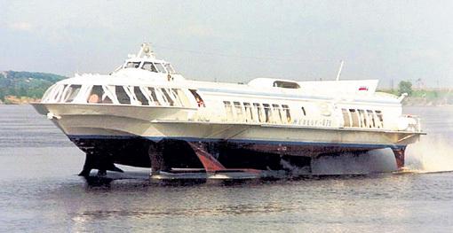 Речной пассажирский теплоход на подводных крыльях «Метеор» мог управляться даже дистанционно