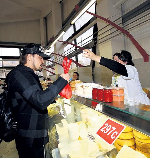 Творог домашний - 450 руб./кг; Сыр сулугуни - 350 руб./кг
