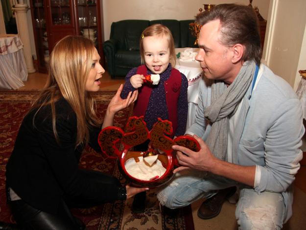 Владимир ЛЁВКИН с женой Мариной и дочерью Никой