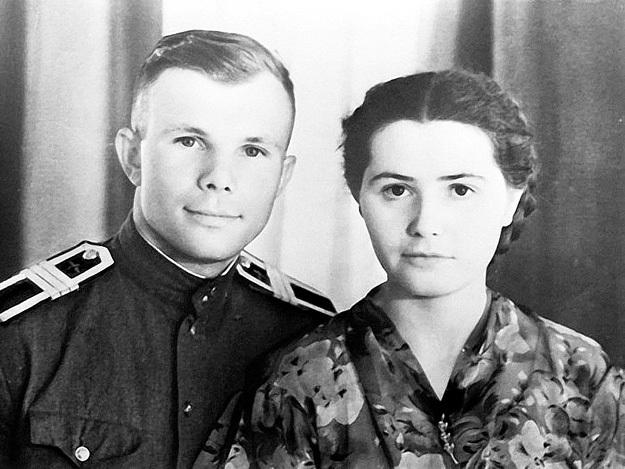 Юрий женился на Валентине, когда им было по 23