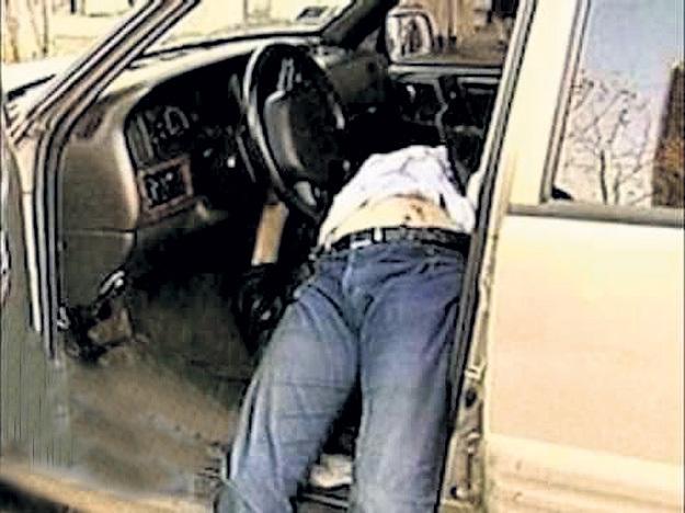 Костю ПЕКИНСКОГО расстреляли в тот момент, когда он пытался сесть за руль. Фото: Архив ntv.ru.com