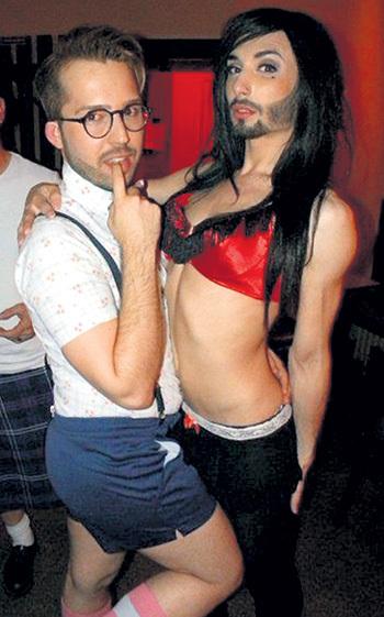 Кончита и Жак - завсегдатаи модных гей-клубов