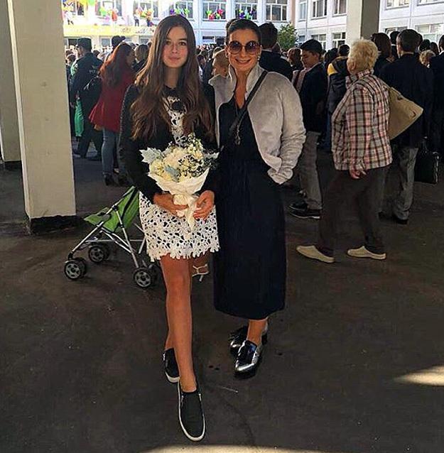 Саша СТИЖЕНОВА с мамой Катей