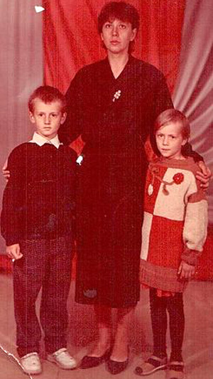 Лариса ТЕРЕХОВА в одиночку вырастила сына и дочь. Фото: Ok.ru