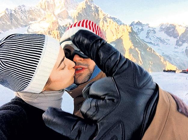 В соцсетях Даня и Оля изо всех сил изображают влюблённую парочку... Фото: Instagram.com
